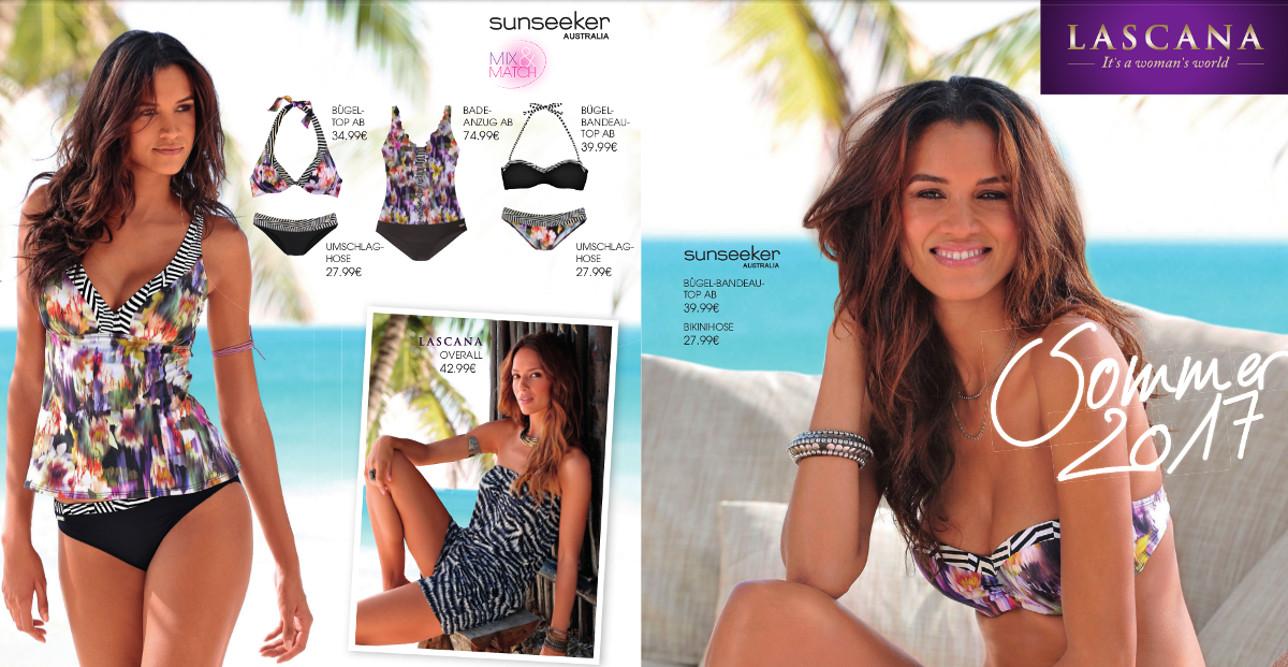Sommer 2017: Bikinis, Badeanzüge und mehr. Die neuesten Trends der Bademoden