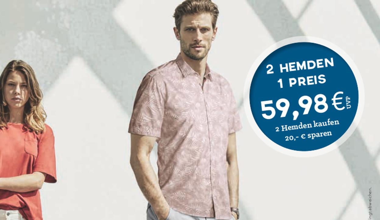 Zwei Hemden- Ein Preis