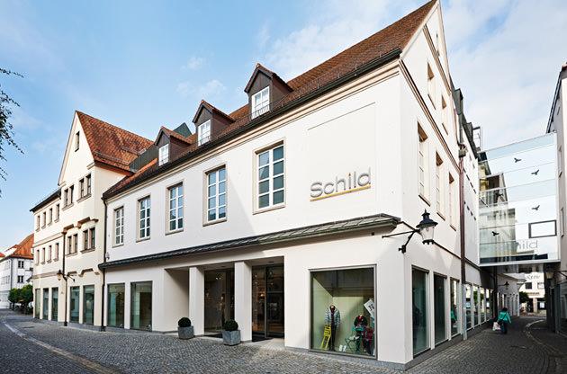 Modehaus Schild in Günzburg