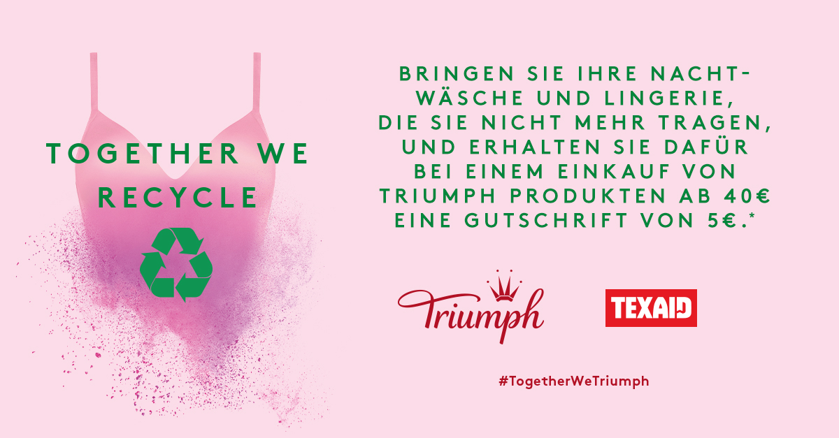 Together wie recycle 08. – 19. Oktober