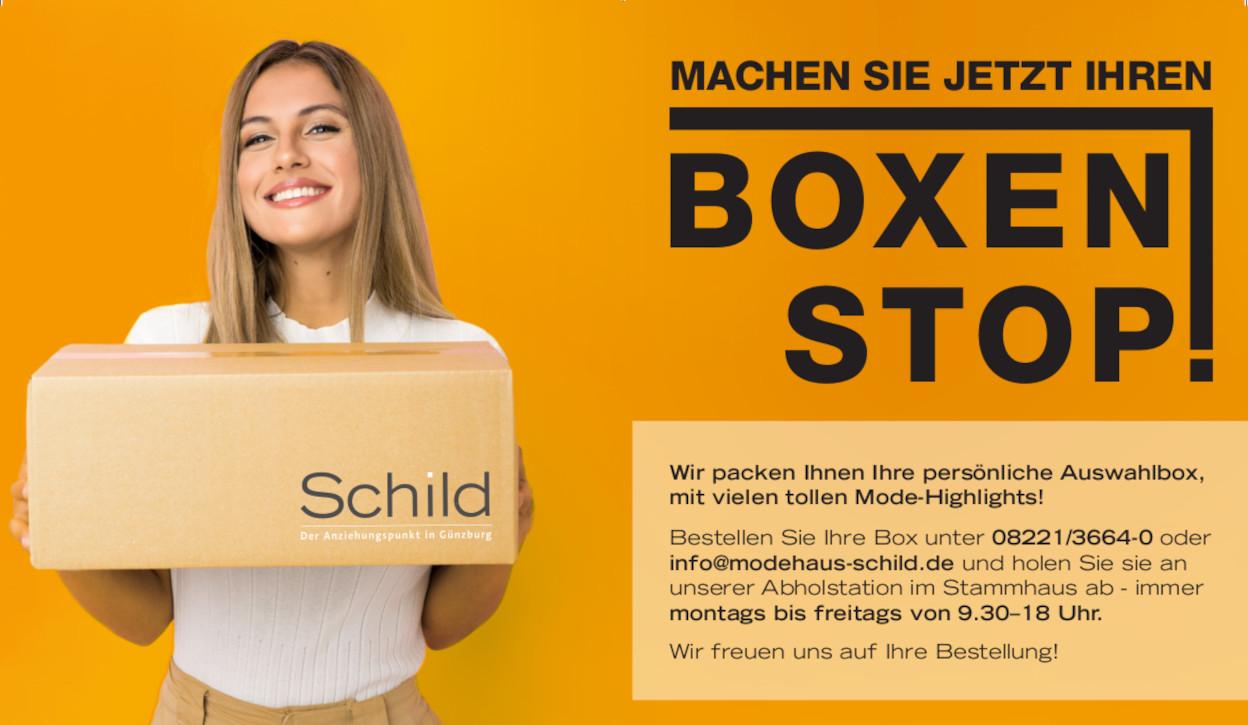 Boxen-Stop