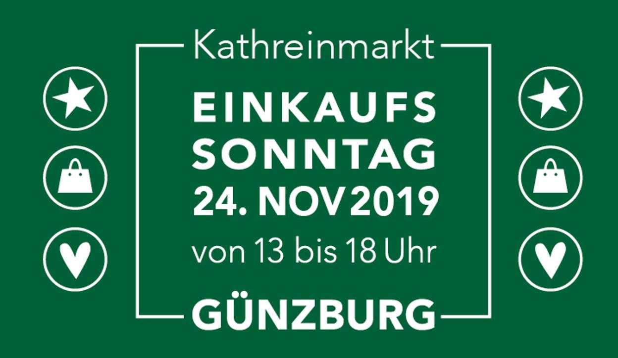Marktsonntag in Günzburg am 24.11.2019